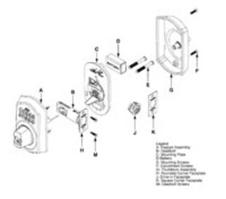 Schlage Keypad Deadbolt: Key or Keyless Operation