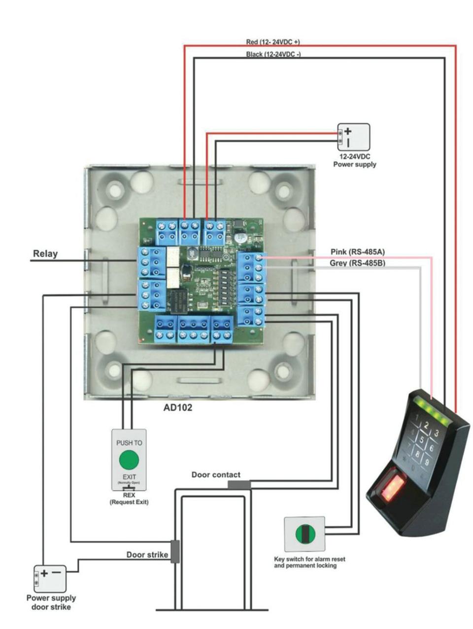 medium resolution of kaba wiring diagrams wiring diagramkaba ad102 kit opens the door to biometricsad102 kit operation diagram show