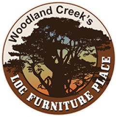 Rustic Outdoor Chairs Tan Dining Furniture Log Wood Patio Stools