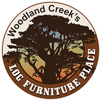 Log Table And Chairs Cedar Lake Deluxe Log Table By Woodland Creek 39s Log