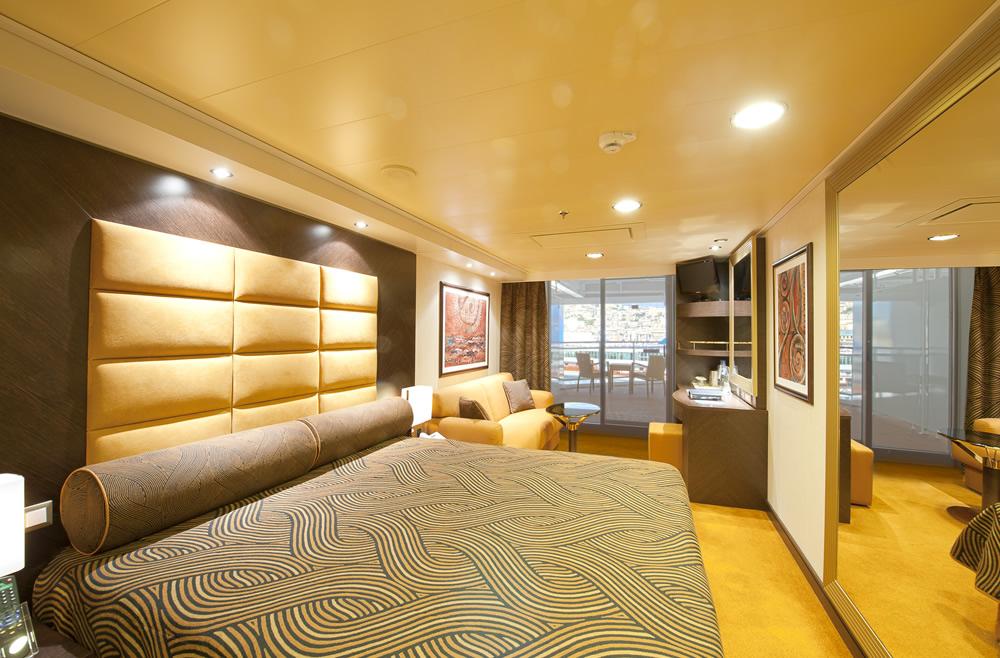 Catgories et cabines du bateau MSC Splendida MSC