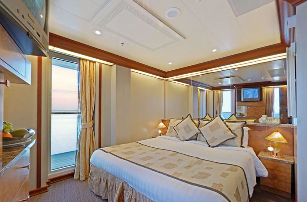 Catgories et cabines du bateau Costa Mediterranea Costa