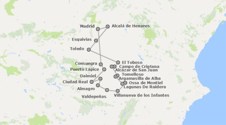Spagna Percorso di Don Chisciotte a modo tuo in auto  Logitravel da  299 I migliori tour al