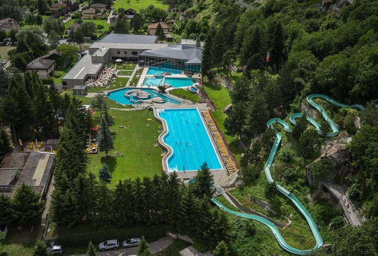 Bains Thermaux de Brigerbad  Activit  Loisirsch