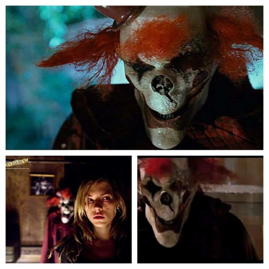 20 scary clowns in