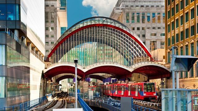 Canary Wharf DLR Station DLR Station