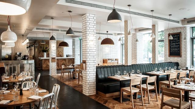 Toms Kitchen  Canary Wharf  British Restaurant