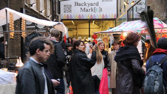 Brick Lane Market March De Rue