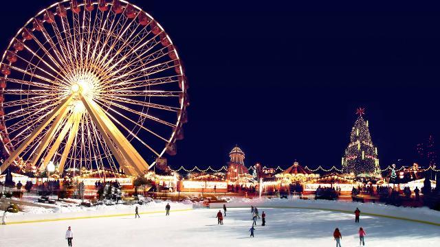 Winter Wonderland in Hyde Park London