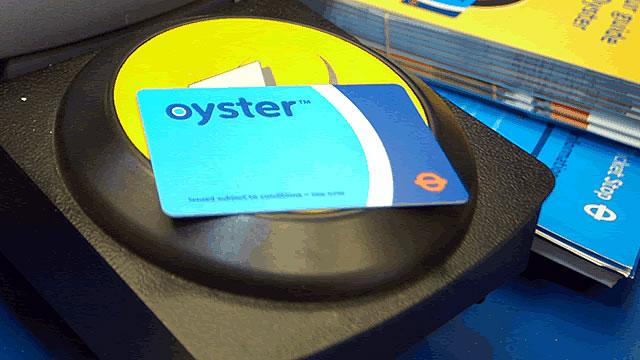Resultado de imagen de oyster card