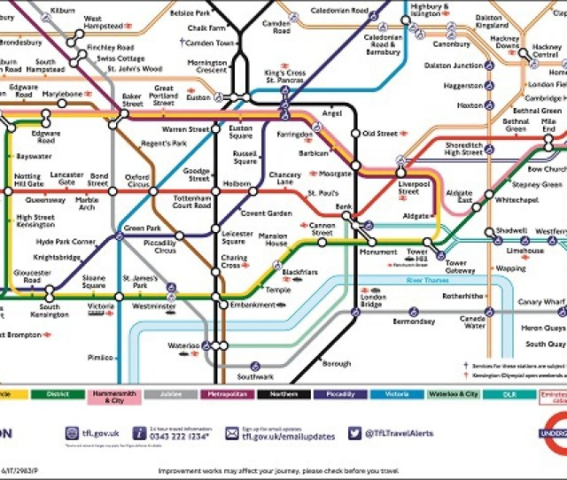 Is There A London Tube Map