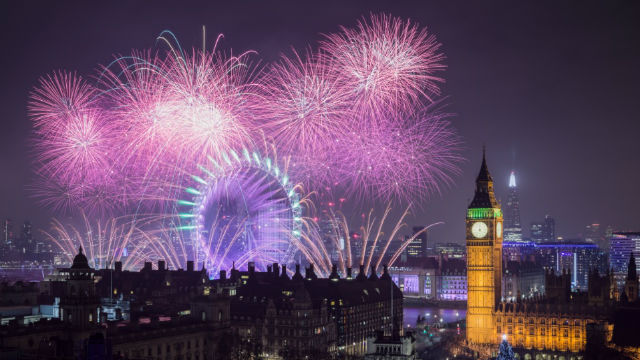 london new year s