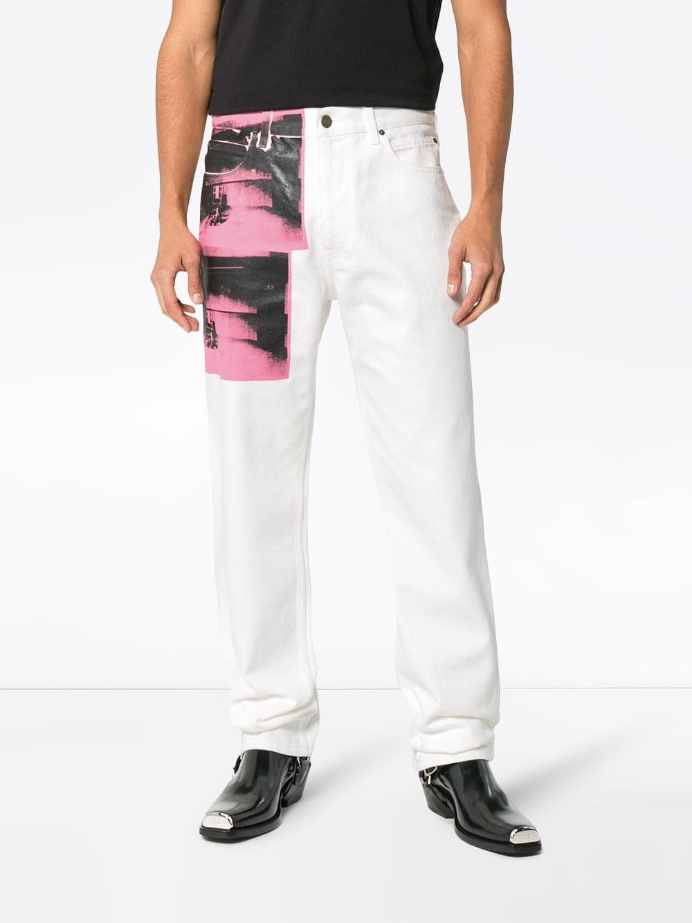 Chair Pants X Andy Warhol Foundation Little Electric Chair Jeans