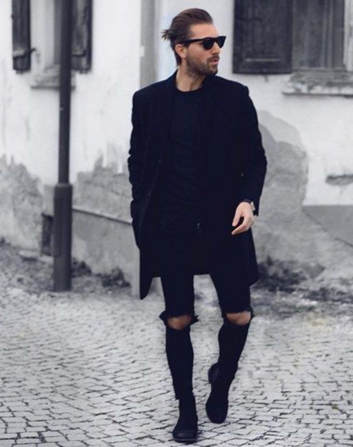 Black Chelsea Boots Mens Fashion LibaifoundationOrg
