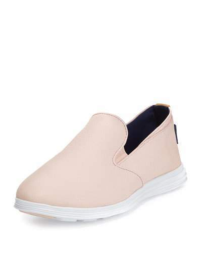 Light Pink Slip On Sneakers