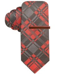 Alfani Red Tie Patti Power Plaid | Where to buy & how to wear