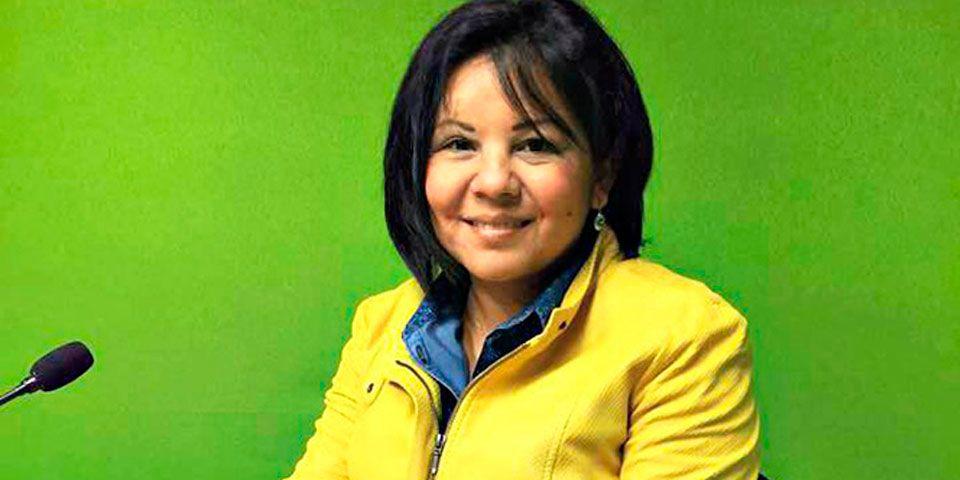 Gisela Raquel Mota Ocampo, presidenta municipal electa de Temixco. Foto de Excélsior