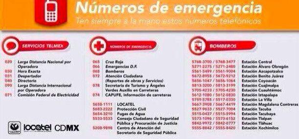 Numeros emergencia