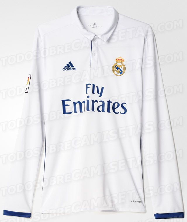 f64d90c7575c0 Se filtra imagen de la playera del Real Madrid para la próxima ...