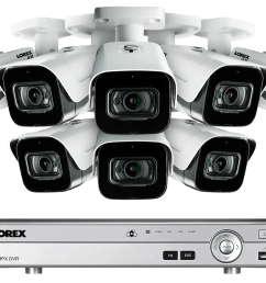 4k 8mp ultra hd 8 channel security system with 8 ultra hd audio cameras [ 1200 x 800 Pixel ]