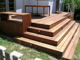 Deck Box Stairs Designs Home Landscaping   Home Building ...