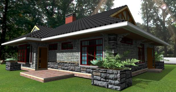 3 Bedroom Bungalow House Plans Kenya Inspirations