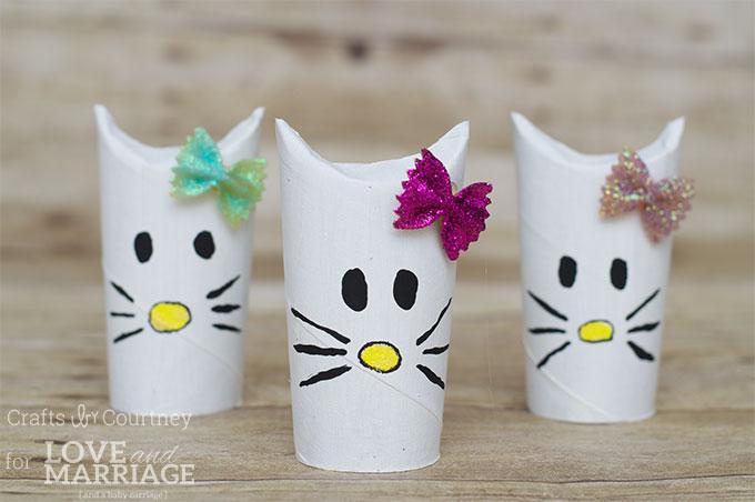 simple hello kitty craft