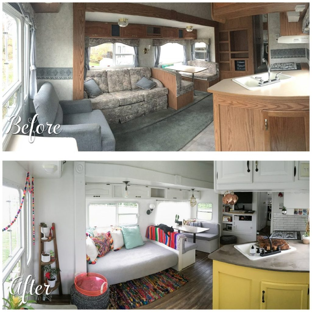 12 Camper Remodel Ideas Diys How To Upgrade Your Camper