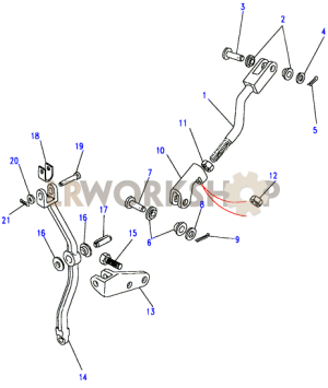 Rod Assembly  LT77S  With Pivot  Find Land Rover parts