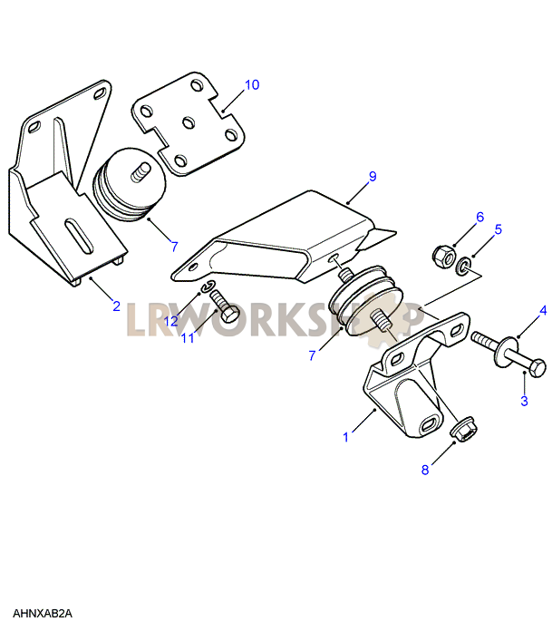 [BOAD_4565] 1998 Land Rover Discovery Transmission Diagram