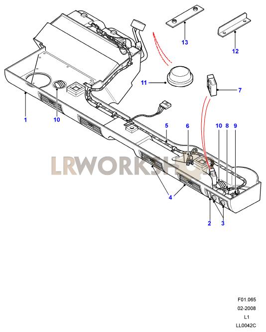 Facia Assembly From Xa159807