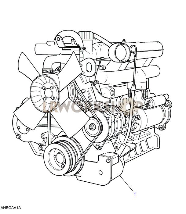 Engine Diagram 2 5 Rover Land