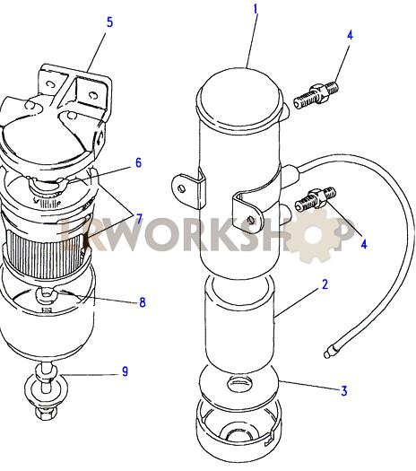 land rover fuel pump diagram