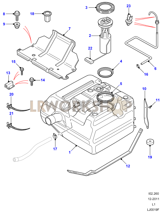 Land Rover Discovery Td5 Parts Diagram