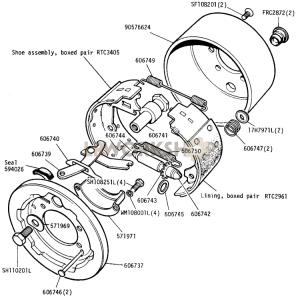 Transmission Brake  109in V8  Find Land Rover parts at