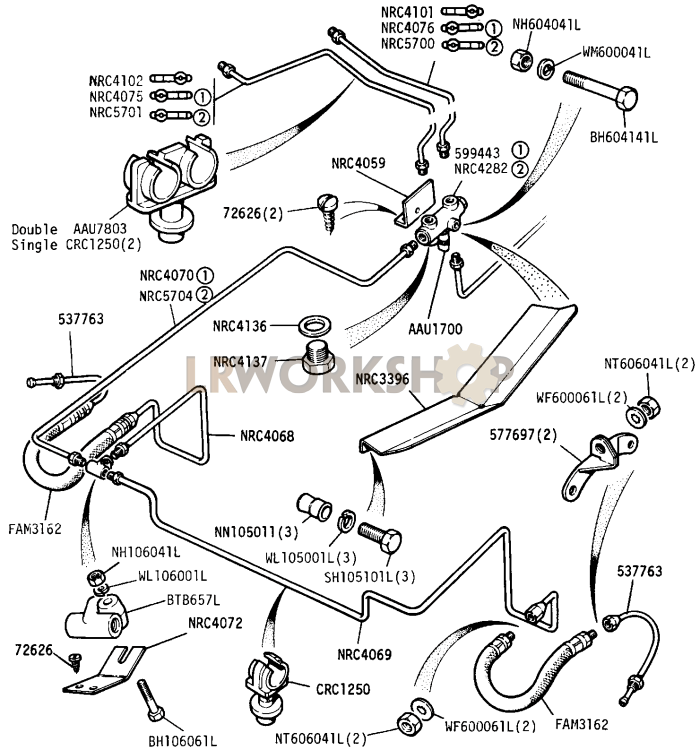 [DIAGRAM] Land Rover Series Iii Workshop Wiring Diagram