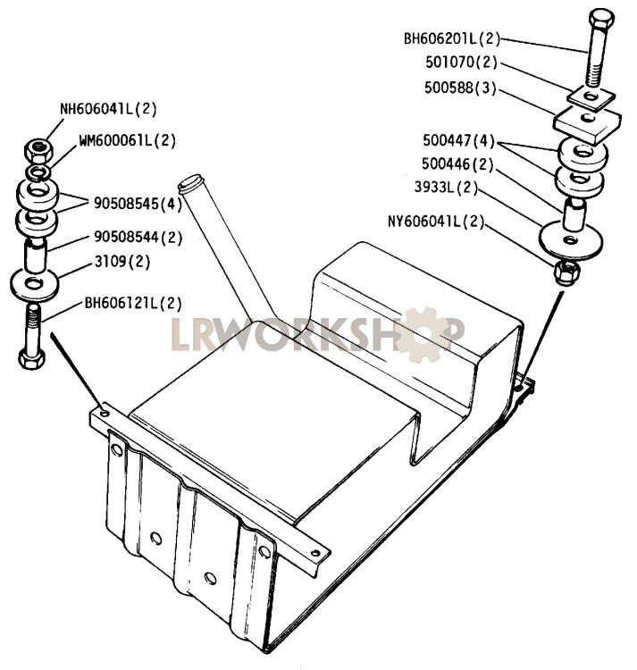 Petrol Tank Drawing