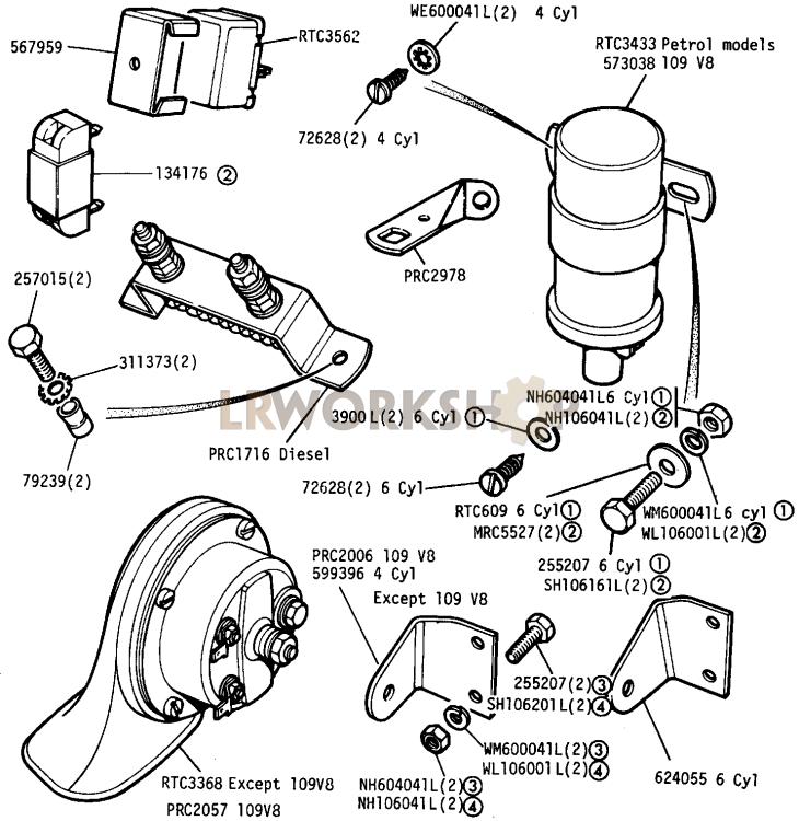 [DIAGRAM] Land Rover Series Iii Workshop Wiring Diagram
