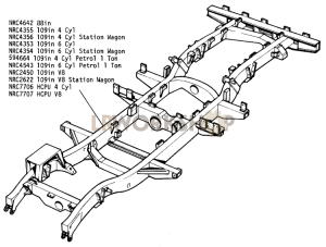 Chassis Frame Assembly  Find Land Rover parts at LR Workshop