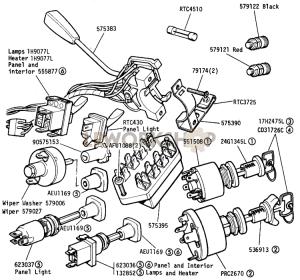 Instruments Diagrams  Find Land Rover parts at LR Workshop