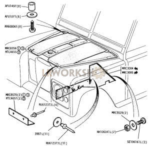 Land Rover Defender Diagram