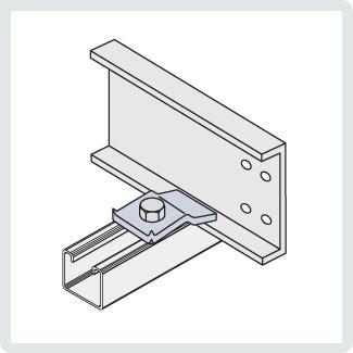 P087848 CABLOFIL A-1893-02 AL EXP GUIDE CLAMP-NO HDW