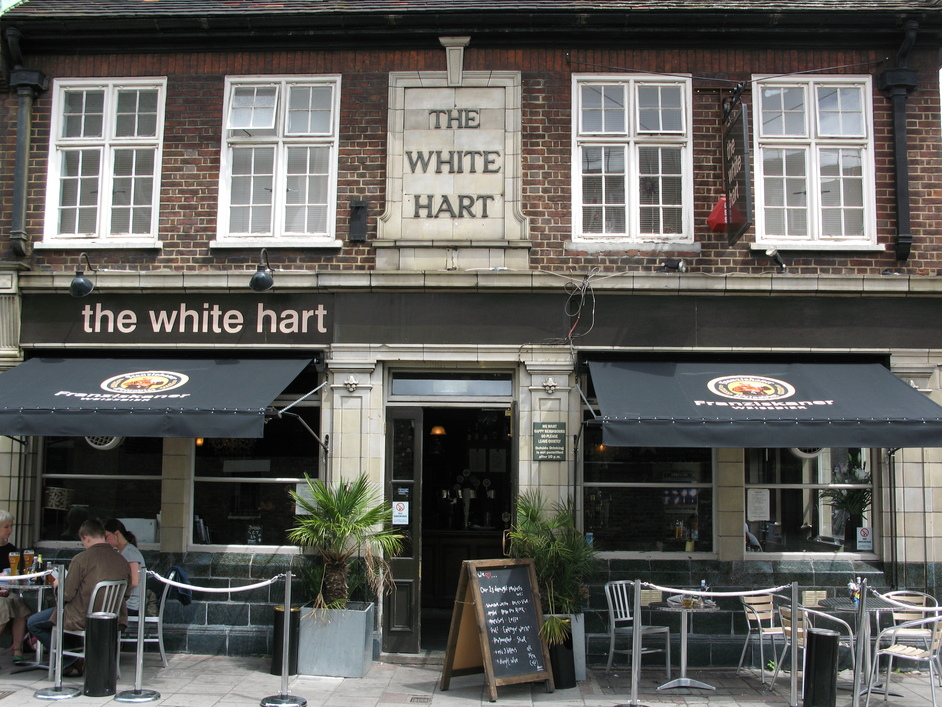 The White Hart London  Nearby hotels shops and restaurants  LondonTowncom