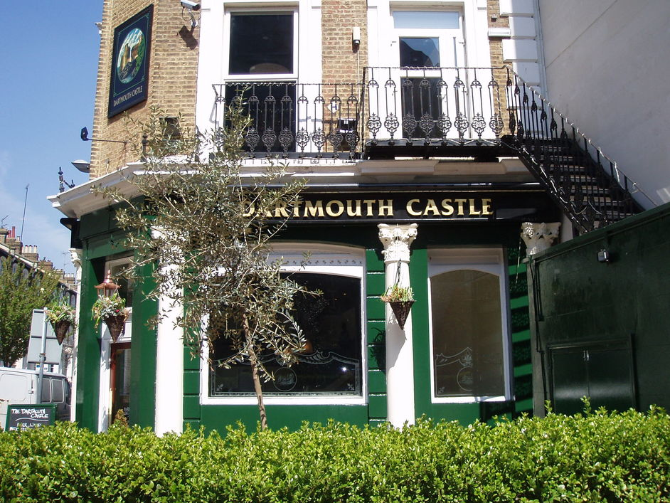 Image result for the dartmouth castle pub