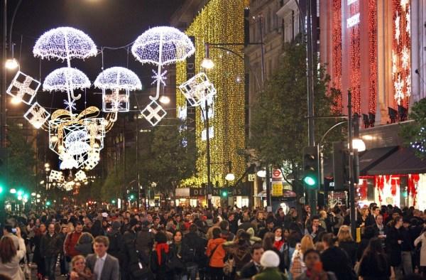 christmas lights london # 46