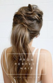 prom perfect hair - tousled
