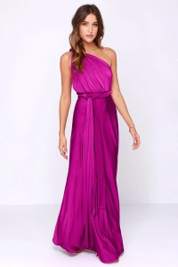 Fuchsia Color Dress