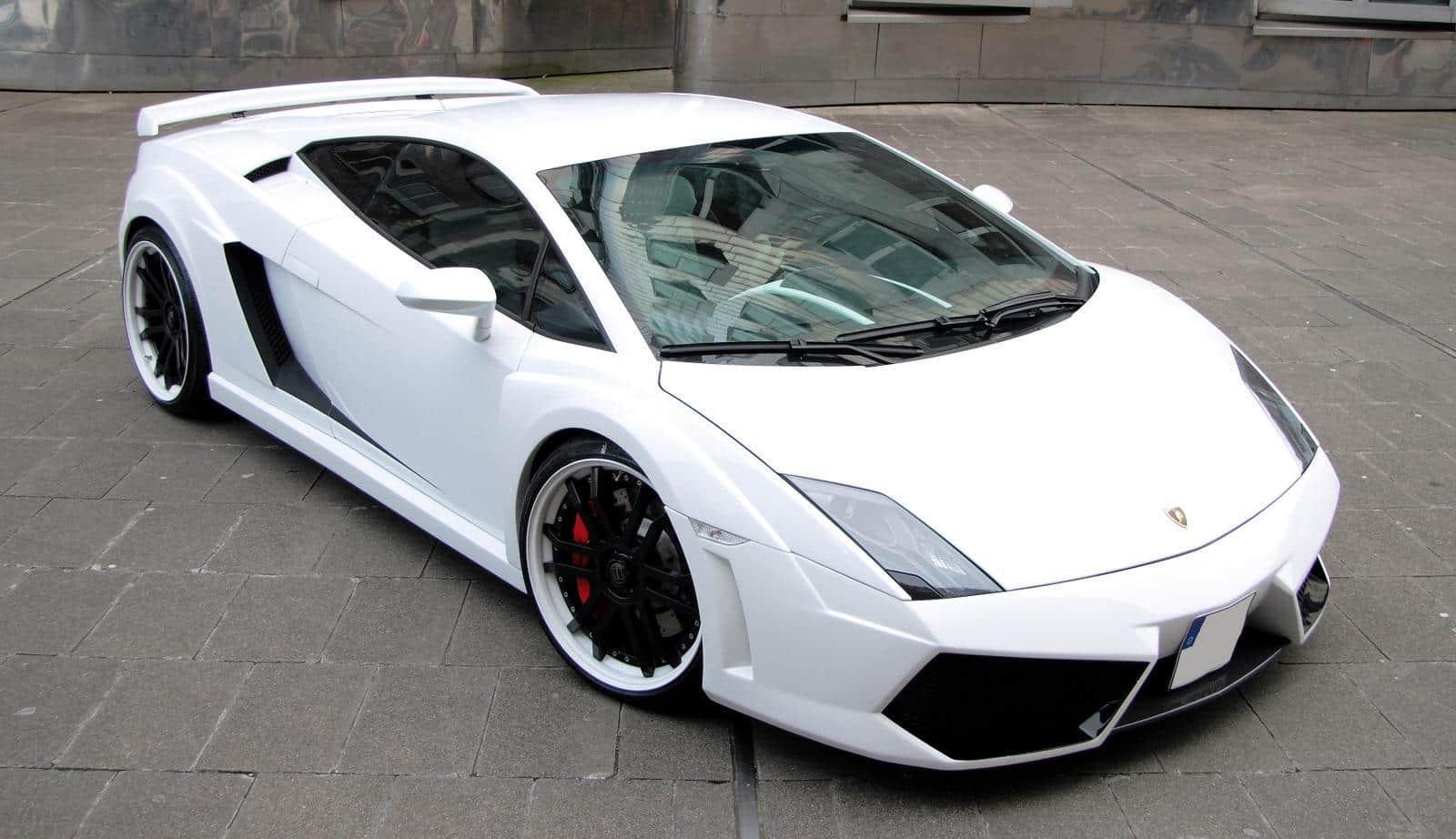 Lamborghini Gallardo White By Anderson Germany