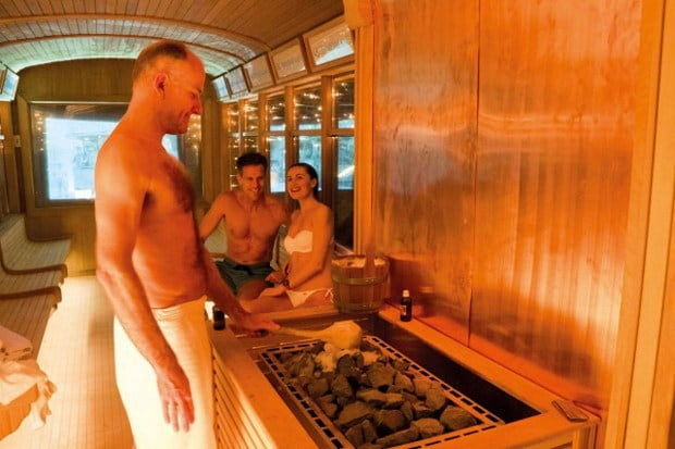 Worlds First Tram Sauna opened in Milan Italy
