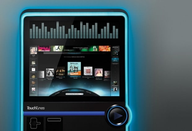 TouchTunes Virtuo Smart Jukebox by Frog Design